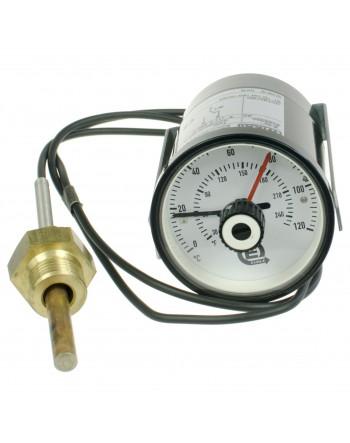 TERMOSTAT EHRLE 0-120°C (WSKAZ. CZERWONA)